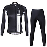 Ilpaladin Sport Women Long Sleeve Cycling Jerseys Suit CT646