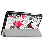 Painting Pattern PU Leather Case with Sleep for 8 Inch Acer B1-850