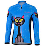 KEIYUEM® Cycling Jersey Women's / Men's / Unisex Long Sleeve BikeWaterproof / Breathable / Quick Dry / Anatomic Design / Rain-Proof /