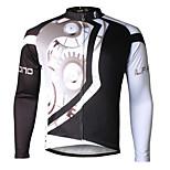 PALADIN® Maglia da ciclismo Per uomo Maniche lunghe BiciclettaTraspirante / Asciugatura rapida / Resistente ai raggi UV / Compressione /
