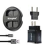 Kingma chargeur double USB pour batterie nikon et d7000 nikon D7100 / 1c1 / d600 / D600E / d600 avec une puissance usb plug adaptateur