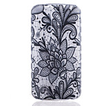 TPU Material Black Rose Pattern Painted Slip Phone Case for LG K10/K8/K7/K5/K4/G5/G4/G3