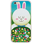 Para Funda iPhone 6 / Funda iPhone 6 Plus / Funda iPhone 5 Diseños Funda Cubierta Trasera Funda Animal Dura Policarbonato AppleiPhone 6s