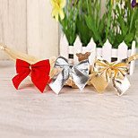 12Pcs Bow Christmas Decorations  Butterfly Knot