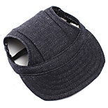 Dog Jeans / Bandanas & Hats Black Dog Clothes Winter / Spring/Fall Flower Casual/Daily