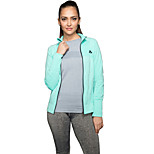 Women's Long Sleeve Sports Jacket Fitness Gym Quaick Dry Tops