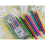 Diamond Head Color Neutral Pen(12PCS)
