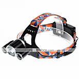 U`King® Headlamps Headlamp Straps LED 5000LM Lumens 4 Mode Cree XM-L T6 18650 Rechargeable Compact SizeCamping/Hiking/Caving Cycling/Bike