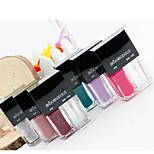 Nagellack UV Gel 5ml*2 2 pcs/set Farbwechsel / Ablösen / Glitzer Tränken weg von Long Lasting