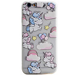 Unicorn Pattern Simple Matte Material TPU Phone Case For iPhone 6s 6 Plus SE 5s 5