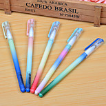 Gradient Rainbow Color Neutral Pen(10PCS)