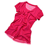 Running T-shirt / Sweatshirt Women's Short Sleeve Breathable / Quick Dry / Reflective Strips / Sweat-wicking /