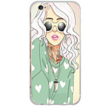 Für iPhone 6 Hülle / iPhone 6 Plus Hülle Muster Hülle Rückseitenabdeckung Hülle Sexy Lady Hart PC AppleiPhone 6s Plus/6 Plus / iPhone