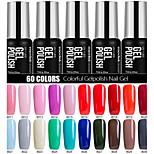 Nagellack UV Gel 7ml 1 Ablösen / Glitzer / UV Farbgel / Gelee / NEUTRAL / schimmernd Tränken weg von Long Lasting