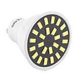 5W GU10 Spot LED MR16 24 SMD 5733 400-500 lm Blanc Chaud / Blanc Froid Décorative AC 110-130 / AC 100-240 V 1 pièce