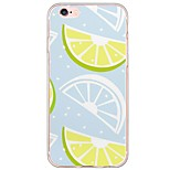 iPhone 7 7Plus Fruit Lemon Pattern TPU Ultra-thin Translucent Soft Back Cover for iPhone 6s 6 Plus 5s 5 5E