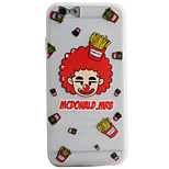 Clown Pattern Simple Matte Material TPU Phone Case For iPhone 6s 6 Plus SE 5s 5