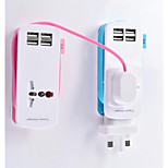 Intelligent Charging Converter Multifunctional Travel Socket Portable Mini USB Receptacle