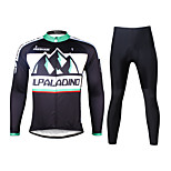 Ilpaladin Sport Men Long Sleeve Cycling Jerseys Suit CT705 Distant Hills