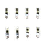 12 E14 / G9 / GU10 / B22 / E26/E27 Bombillas LED de Mazorca B 64 SMD 5733 1000 lm Blanco Cálido / Blanco Fresco Decorativa AC 100-240 V8