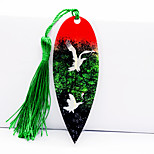 China Wind Cong Lin Feihe Vein Bookmark Diy Handicrafts Leaves Plastic Card Art Gifts