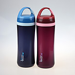 YOOYEE Brand Promotion Portable Double Wall 500ml Plastic sport water bottle FDA Standard