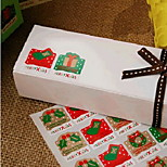 Christmas Decoration Stickers Affixed Seal Gift Box Stickers Affixed To Eight Baking Package Price