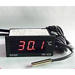 Led Digital Display Meter Thermometer Water Temperature Meter Industrial HD630 Digital Temperature Display