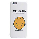 Smile Pattern IMD Technology Phone Case TPU Material For iPhone 6s 6 Plus