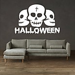 AYA DIY Wall Stickers Wall Decals Halloween Decoration Skulls Type PVC Panel Wall Stickers 42*65cm