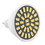 7W GU5.3(MR16) LED Spot Lampen MR16 32 SMD 5733 500-700 lm Warmes Weiß / Kühles Weiß Dekorativ AC 220-240 / AC 110-130 V 1 Stück