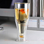 Double Glass Beer Mug 500Ml Inverted Cup Custom Manufacturers Support