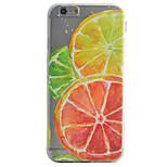Rückseite Muster Frucht TPU Weich Fall-Abdeckung für Apple iPhone 7 plus / iPhone 7 / iPhone 6s Plus/6 Plus / iPhone 6s/6 / iPhone SE/5s/5