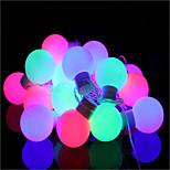 40 liderada por 5m tapón impermeable al aire libre de la decoración de luces navideñas Navidad llevó la luz de la secuencia
