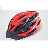Casque Vélo(Jaune / Blanc / Vert / Rouge / Gris foncé / Noir / Bleu Foncé / Bleu Ciel,EPS / PVC)-deFemme / Homme-Cyclisme / Cyclisme en