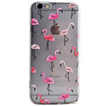 Flamingos Pattern High Permeability TPU Material Phone Case For iPhone 6s 6Plus SE 5S 5