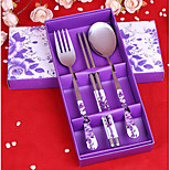 Stainless steel tableware street hot of cutlery set