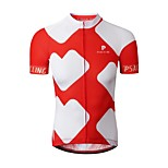 Sports Cycling Jersey Men's Short Sleeve BikeBreathable / Quick Dry / Ultraviolet Resistant / Anti-Eradiation / Wearable / Antistatic /