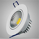 HRY 3W COB Recessed Led Ceiling Downlight for Living Kitchen Indoor Lighting(AC85-265V)