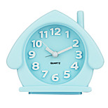 Candy Color Cartoon Environmental Protection Material Alarm Clock  Night Luminous  Small Alarm Clock