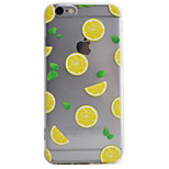Lemon Pattern High Permeability TPU Material Phone Case For iPhone 6s 6Plus SE 5S 5