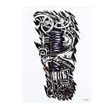 1pc Waterproof Temporary Tattoo Sticker Robot Machine Pattern Women Men Arm Body Art Tattoo Paper HB-305