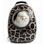 Cat / Dog Carrier & Travel Backpack / Astronaut Capsule Carrier Pet Carrier Portable / Leopard / Zebra Plastic