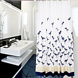 200*200cm Elegant Style  Design Waterproof Bathroom Fabric Shower Curtain