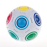 Yongjun® Magic Cube Magic Ball Speed Smooth Speed Cube White ABS Toys