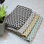 1Pcs Nordic Style Geometry 100%cotton Table Mat Napkins Placemat Kitchen Insulation Pads Kitchen Coaster Random Color