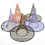 Easter Hat Halloween Single Wizard Hat Random Color Single Layer