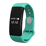H30 Heart Rate Monitor Smart Bracelet Waterproof IP65 Bracelet w/ Pedometer / Stopwatch - Blue