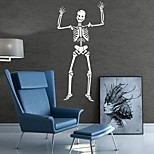 AYA DIY Wall Stickers Wall Decals Halloween Decoration Skull Type PVC Panel Wall Stickers  47*99cm
