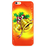 Pour Coque iPhone 7 / Coque iPhone 6 / Coque iPhone 5 IMD Coque Coque Arrière Coque Noël Flexible TPU AppleiPhone 7 / iPhone 6s Plus/6